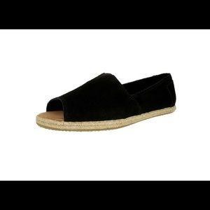 Toms low top open toe shoes